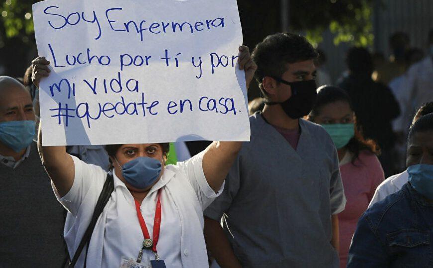 Las marcas que deja la pandemia en las vidas de los enfermeros en México