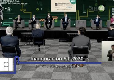 La edición virtual de la Feria Internacional del Libro de Guadalajara ha comenzado