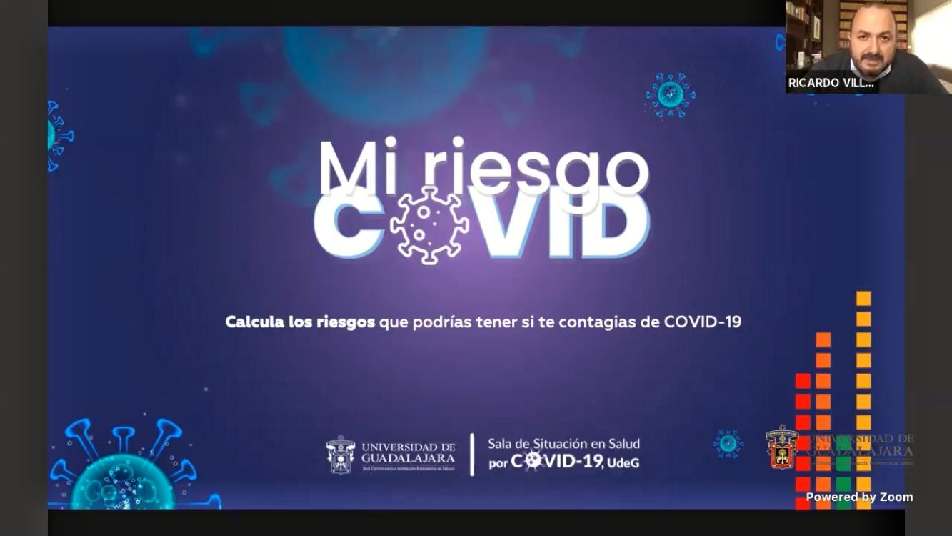 Ofrece UdeG al público en general calculadora de riesgo de complicaciones por COVID-19