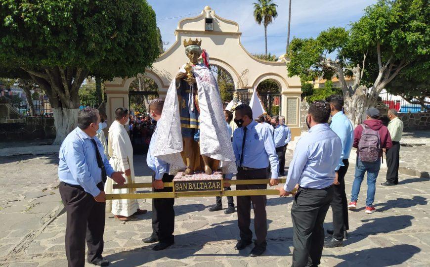 La pandemia no impidió la celebración a los Reyes  Magos en Cajititlán