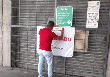 Clausuran tienda del grupo Aurrera en Tlajomulco, por poner en riesgo la salud pública