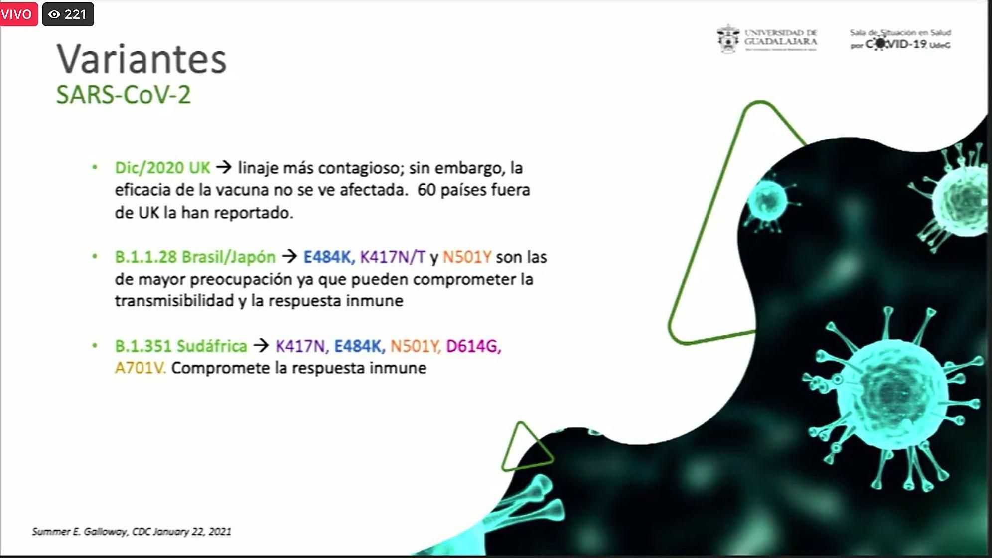 Implementa UdeG Sistema de Vigilancia Epidemiológica Molecular tras encontrar casos de la variante brasileña de COVID-19