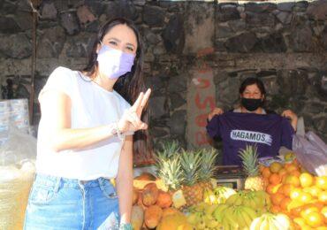 Conocer de viva voz las problemáticas que se dan en los tianguis, para trabajar soluciones, objetivo de María Gómez Rueda en Zapopan