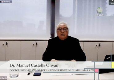 Grandes corporaciones concentran riqueza y acaparan información personal: Manuel Castells