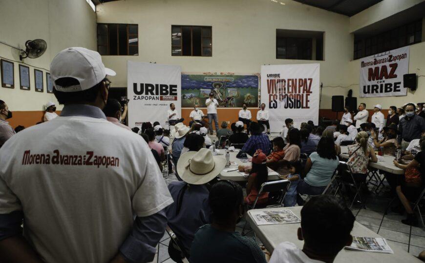 """""""En la estrategia de Protección del Bosque de La Primavera los Ejidos serán parte importante"""", Alberto Uribe"""