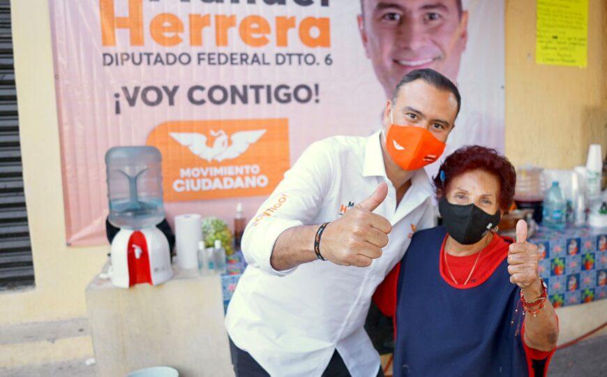 No hemos visto la voluntad del Gobierno Federal para ofrecer a los ciudadanos un programa serio de reactivación económica: Manuel Herrera