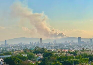 Siete incendios forestal afectan a Jalisco en este momento