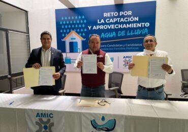 Alberto Uribe se une al Reto por la captación y aprovechamiento del agua de lluvia