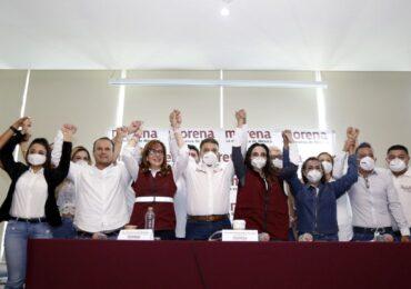 Viridiana Rivas candidata de RSP a Guadalajara y su planilla, además de Víctor Ramírez aspirante a la diputación federal del distrito 8, se suman al proyecto del Dr. Carlos Lomelí