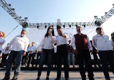 La esperanza regresará a Tlajomulco y acabará con los malos gobiernos: Marcela Michel