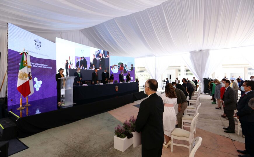 En la vacunación contra el COVID-19 en Guadalajara, CUCEI un pilar fundamental