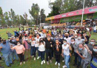 Salvador Zamora se compromete a crear nuevas unidades deportivas en Tlajomulco