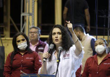No se puede contener la esperanza y la llegada de la 4T a Tlajomulco: Marcela Michel