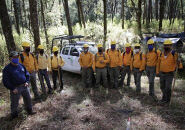 Reconoce Gobierno del Estado la labor de combatientes forestales