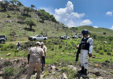 Realizan acciones de búsqueda generalizada en los municipios de Ahualulco de Mercado, San Juanito de Escobedo y Autlán de Navarro