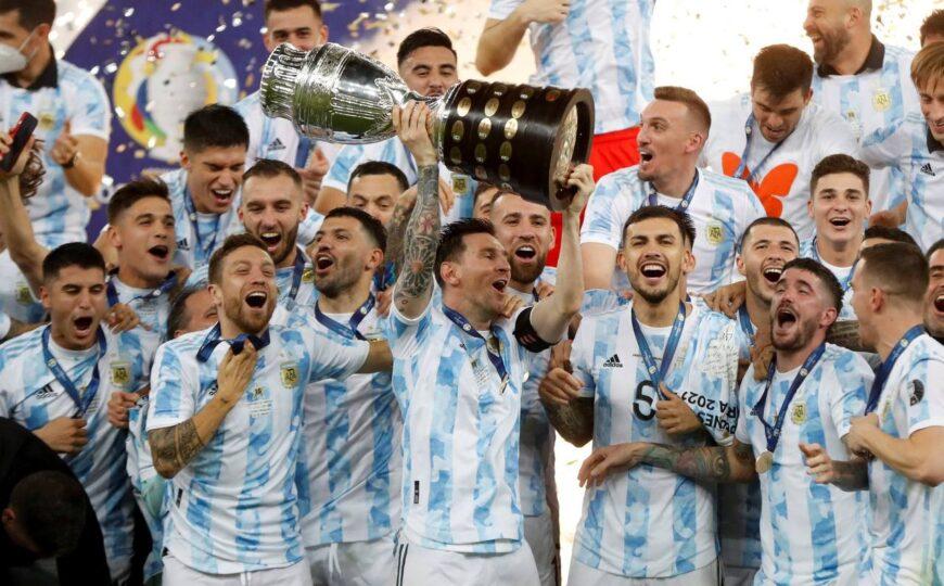 Argentina se corona campeona de la Copa América 2021 venciendo a Brasil en el Maracaná