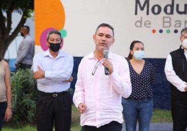 Supervisan el funcionamiento del módulo de paz en la colonia Guadalajara Oriente