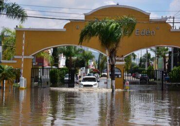Inicia el Gobierno de Tlajomulco proceso para declarar emergencia por inundaciones