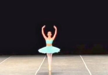 "Gana 1er lugar María López Saldaña en Concurso Internacional de Ballet ""La Superior 2021"""