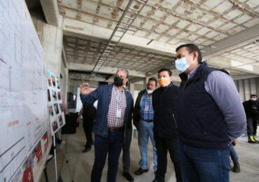 Avanza la construcción del Cuartel de Protección Civil y Bomberos en Tlajomulco