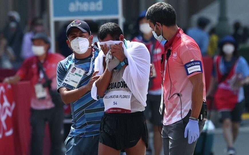Claudio Villanueva el atleta ecuatoriano que llegó último pero se ganó el corazón de Tokio