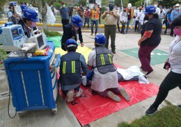 Realizan Macrosimulacro de evacuación en Jalisco