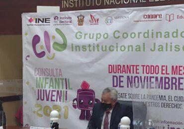 Habrá consulta infantil y juvenil en Jalisco