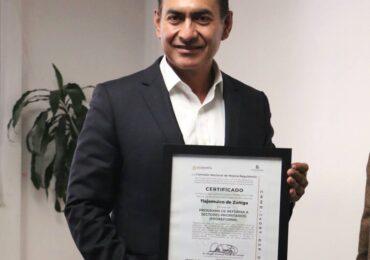 Otorgan a Tlajomulco certificado proreforma de la CONAMER