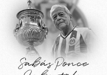 Muere Sabás Ponce, jugador emblemático de Chivas